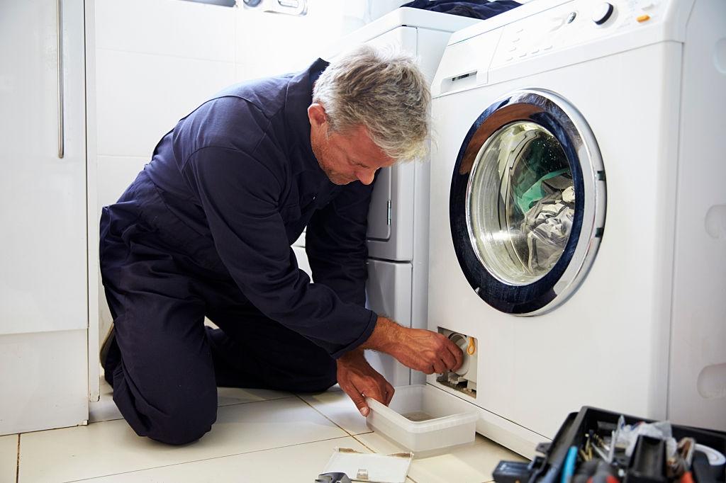 wasmachinefilter reinigen